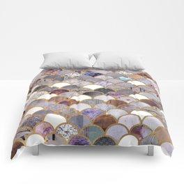 Textured Moons 3 Comforters