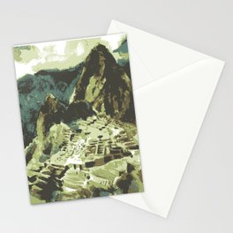 Machu Picchu Peru Stationery Cards