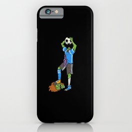 Zombie Footballer | Halloween Soccer Player iPhone Case