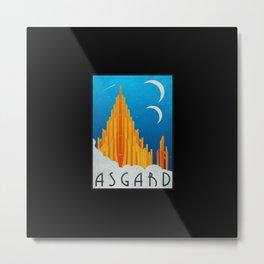 Visit Asgard Metal Print