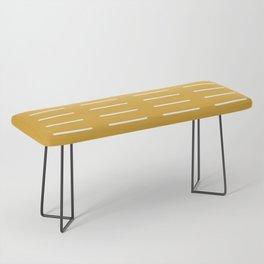 organic / yellow Bench