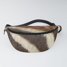 Zebra Fur Fanny Pack