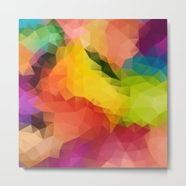 Geometric pattern CL Metal Print