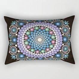 Dot Art Mandala Rectangular Pillow