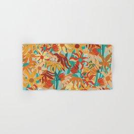 Field of Coneflowers Abstract Hand & Bath Towel
