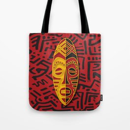 African Tribal Pattern No. 44 Tote Bag