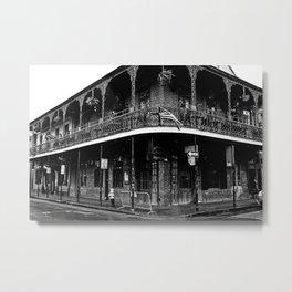 Bourbon Street, New Orleans Metal Print