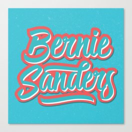 Fresh Bernie Canvas Print