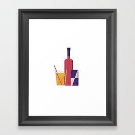 Vodka Red Bull Framed Art Print