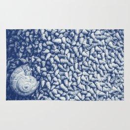 Cian snail shells Rug