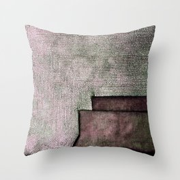Morganite Throw Pillow