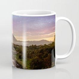 Mount Taranaki Sunrise Coffee Mug