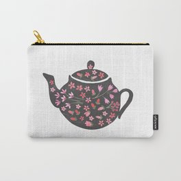 Tea Time Teapot Carry-All Pouch