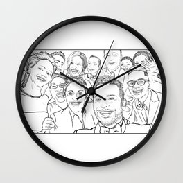 Oscar Selfie Wall Clock