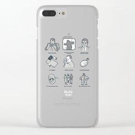 Spoiler Alert Clear iPhone Case