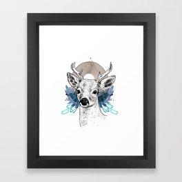 The Deer (Spirit Animal) Framed Art Print