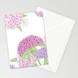 Beautiful hydrangeas Stationery Cards