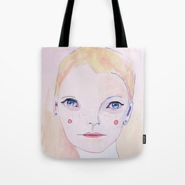 Mia Farrow Tote Bag