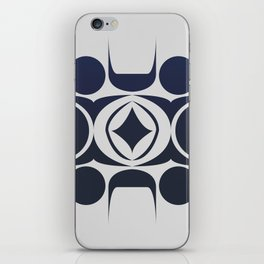 Future Abstract Alien Symbol iPhone Skin