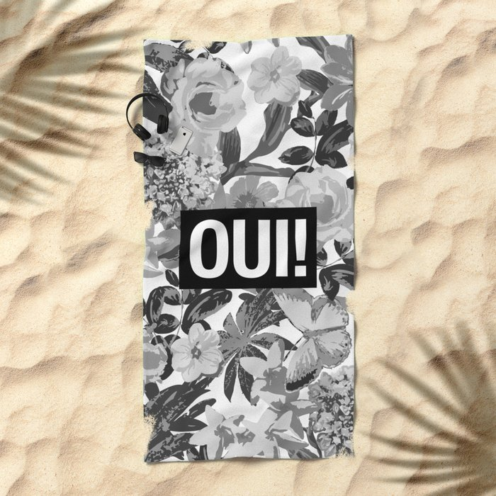 OUI Beach Towel