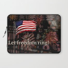 Let Freedom Ring! Laptop Sleeve