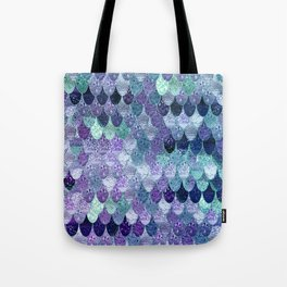 SUMMER MERMAID  Purple & Mint by Monika Strigel Tote Bag