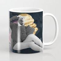 selfie Mugs featuring Selfie by Cs025