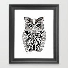 YMMY OWL Framed Art Print