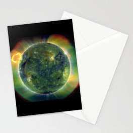 The SUN by Solar Dynamics Observatory satellite Print Stationery Cards