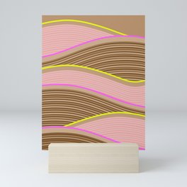 Happy Times - Chocolate Fields Mini Art Print