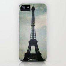 Eiffel Tower in the Storm Slim Case iPhone (5, 5s)