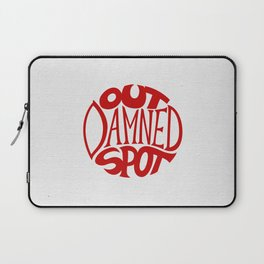 Out Damned Spot Laptop Sleeve