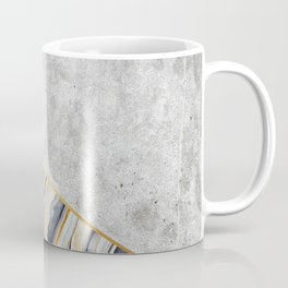 Concrete Arrow - Blue Marble #177 Coffee Mug
