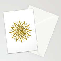Star (gold) Stationery Cards