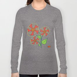 Doxie Flower Long Sleeve T-shirt