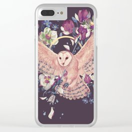 Fury and tyto alba Clear iPhone Case