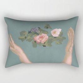 Left Alone Rectangular Pillow