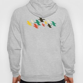 Birds are flying Hoody