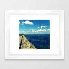 Carlyon Bay Framed Art Print