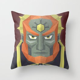 The King of Darkness Throw Pillow