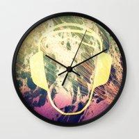 dj Wall Clocks featuring DJ by Sara LG