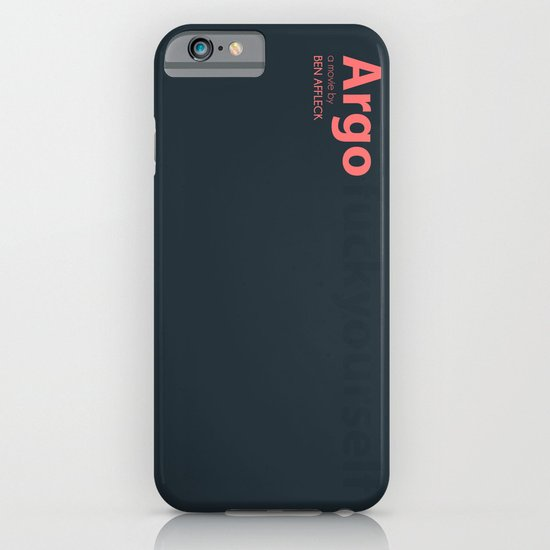 Argo - minmal poster iPhone & iPod Case