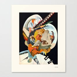 HOLLYWOODLAND 4 Canvas Print