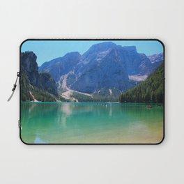 Emerald lake in Tyrol Laptop Sleeve