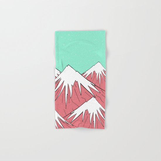 The mountains and the sky Hand & Bath Towel