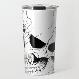 Skull (Fragmented and Conjoined) Travel Mug
