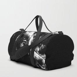 retriever dog ws bw Duffle Bag