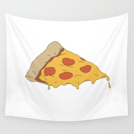 Pizza Never Lies Wall Tapestry