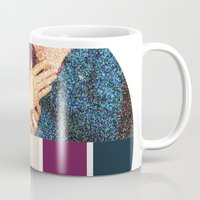 klaine Mugs featuring All You Need is Colors by Jen K
