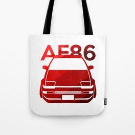 Toyota AE86 Hachi Roku - classic red - Tote Bag